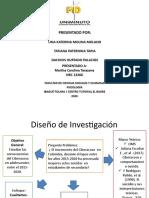 Diseño de la investigación Grupo C