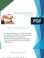 Powerpoint Masaje Deportivo NUC