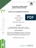 Taller Manual Ofimatica