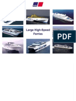MTU Large High Speed Ferry