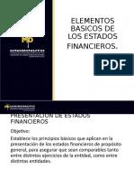 Elementos basicos Estados financieros