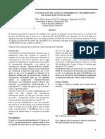 5 ACIDOS Y BASES.VALORACION DE ACIDO CLORHIDRICO Y DE HIDROXIDO DE SODIO POR TITULACIÓN.