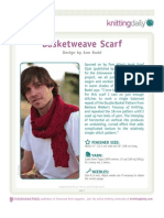 Basket Weave Scarf A