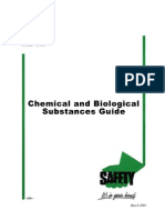 OSHA Chemical and Biological Substances Guide