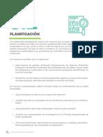 Planificacion de supervision