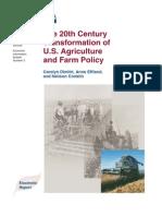 Dimitri(2005) Twentieth Century Transformation Agriculture