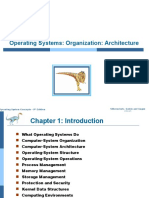 Operating-Systems Organization Architecture- CH1