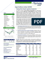 Fortune Research_EFERT - Staying afloat despite regulatory headwinds (Detailed Report)