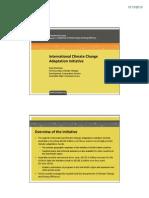 AusAID International Climate Change Adaptation Initiative (ICCAI)