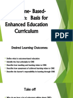 Module 7 Lesson 1 - OBE Basis for Enhanced Education Curriculum
