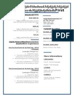 Blue Corporate Resume-WPS Officenfjdkekke