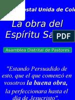 La Obra del Espíritu Santo..ppt