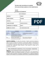 AVANCE PROGRAMATICO POR COMPETENCIAS HistoriaMex II
