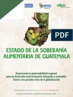 Estado de la Soberania Alimentaria de Guatemala