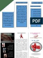 TRIPTICO VIH
