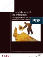SAP a Complete View of the Enterprise Research Paper