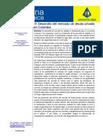 El Desarrollo del mercado de deuda privada.pdf