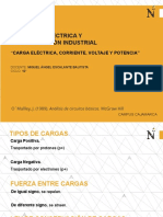 Cap 2 Carga Eléctrica Corriente Voltage Potencia