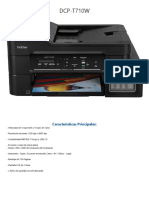 brother DCP - T710W FT
