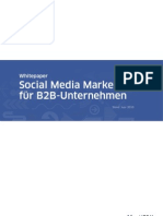 Whitepaper Social Media Marketing b2b