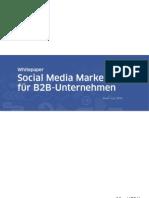 Whitepaper Social Media Marketing b2b