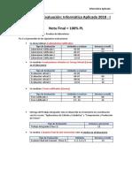 Detalle de la Evaluación 2018 -I (1)