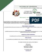FACTORES de CONVERSION v2011 (Excel 2003)