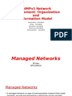 7- NWM SNMP ORG and INFO model