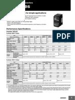 I918-E1-01 JX Series Datasheet