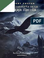 Guia completa de la Tierra Media - Robert Foster