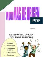 NORMAS DE ORIGEN - 2012