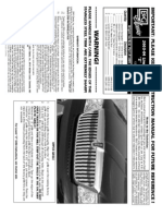 03 04 Lincoln Navigator Grille Installation Manual Carid