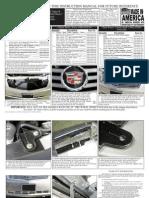 04 Cadillac Srx Grille Installation Manual Carid