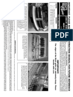 04 Dodge Durango Grille Installation Manual Carid