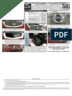 05 06 Nissan Altima Grille Installation Manual Carid