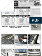 05 07 Nissan Frontier Grille Installation Manual Carid