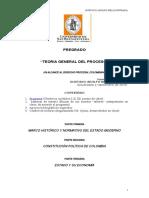Contenido programatico U.SAN Bnavntura. - Teoría Gral del Proceso. Último....doc