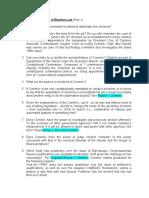 Socratic Method in Election Law (Part 1)