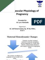 Cardiovascular Physiology of Pregnancy