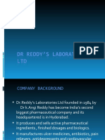 DR REDDY'S LABORATORIES LIMITED 2003
