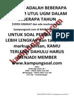 kampungsoal.com Soal Utul UGM Soshum 2007-2017.pdf