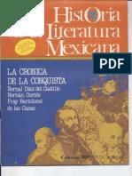 La crónica de la conquista.
