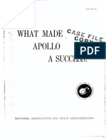What Made Apollo a Success