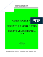 GHID Audit Administrare TVA