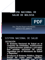 Salud Pública Sistema Nacional de Salud