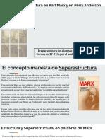 El concepto marxista de Superestructura (Prof. F. Miliddi)