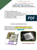 Cours No 08 Les microprocesseurs