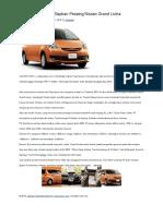 Toyota Diramalkan Siapkan Pesaing Nissan Grand Livina