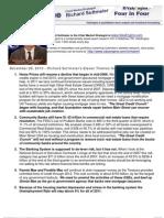 Richard Suttmeier's Eleven Themes for 2011 – 1 through 5