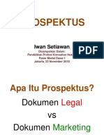Dasar I - Propektus